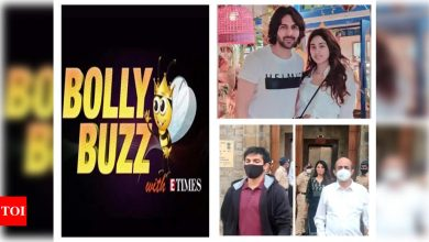 Bolly Buzz: Kartik Aaryan and Janhvi Kapoor holiday in Goa together, Rhea Chakraborty and brother Showik spotted at the NCB office, Ali Abbas Zafar ties the knot in a private ceremony - Times of India ►