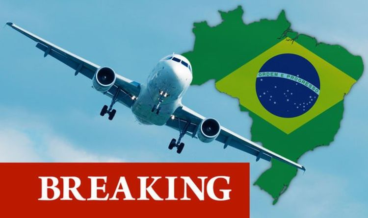 Brazil flight BAN: UK to close route as fears rise over new Covid strain in South America