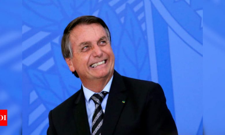 Brazilian Prez Bolsonaro invokes Ramayana, thanks India for Covid-19 vaccine supply - Times of India