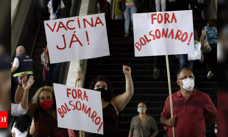 Brazil's late and rocky start on vaccinations fuels public ire - Times of India