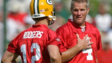 Brett Favre weighs in on 'painful' Aaron Rodgers comments