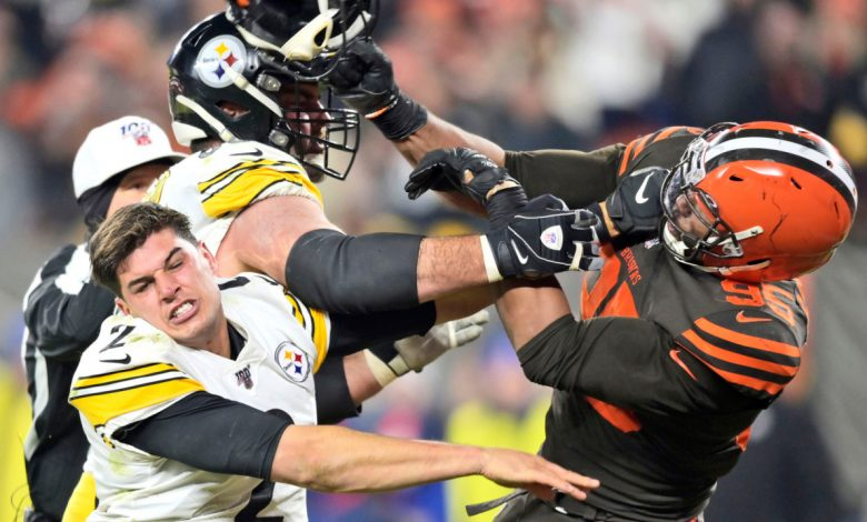 Browns road to playoff berth goes through rival Steelers