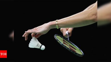 Bubble badminton: Tour returns behind closed doors in Bangkok - Times of India