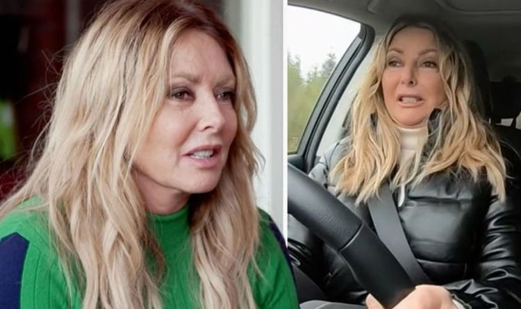 Carol Vorderman breaks down after she revisits step dad's home 'Affected my life forever'