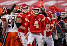 Chad Henne carries Chiefs to AFC title game after Patrick Mahomes injury