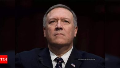 China sanctions Pompeo, Trump officials for violating 'sovereignty' - Times of India