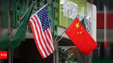 China to sanction US officials for 'nasty' behaviour over Taiwan - Times of India