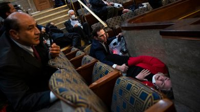 Congressmen Talk About Having to Use Their Military Training Inside Capitol Amid Rioting