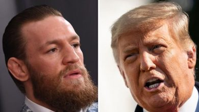 Conor McGregor branded Donald Trump 'greatest US President of all time'