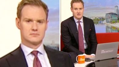 Dan Walker reacts after sparking concern with home life post ahead of BBC Breakfast return