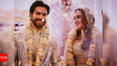 Did you know Varun Dhawan made a filmy entry on Salman Khan's song to marry Natasha Dalal? - Times of India