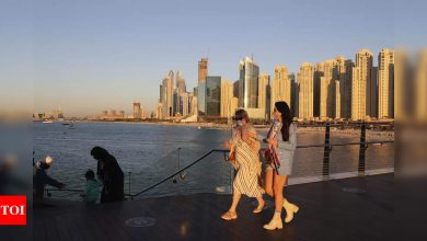 Dubai, party haven amid pandemic, faces its biggest surge - Times of India