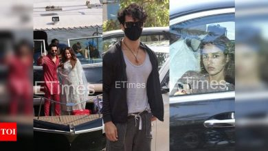 ETimes Paparazzi Diaries: Newlyweds Varun Dhawan-Natasha Dalal return home; Tiger Shroff and Disha Patani zoom around town - Times of India