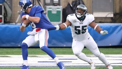 Eagles' Brandon Graham hits back at Giants over reaction to QB controversy