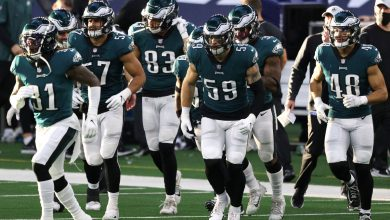 Eagles don't sound like they'll roll over for Washington: 'No-hat rule'