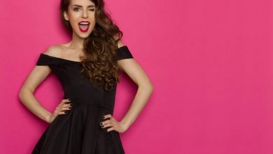 Easy ways to style your little black dress    The Times of India
