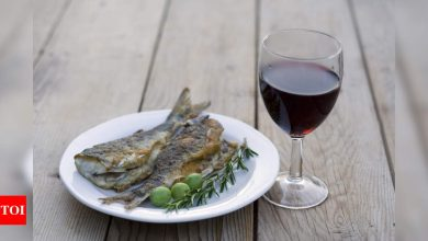 Eat fish and drink wine in 2021 if you seek ultimate beauty - Times of India