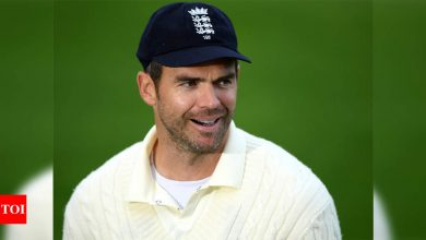 England's James Anderson ready for hard labour in Sri Lanka | Cricket News - Times of India