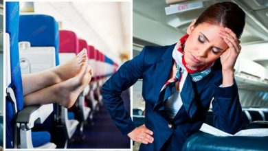 Ex British Airways cabin crew shares alarming reason fliers must keep shoes on for flights