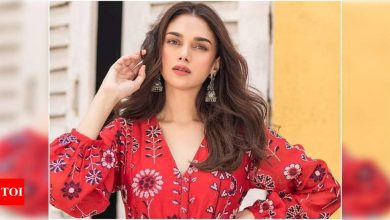 Exclusive! Aditi Rao Hydari reveals the one person who inspired her to become an actress - Times of India