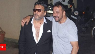 Exclusive: Do you know what Jackie Shroff admires about Sanjay Dutt the most? - Times of India