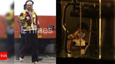 Exclusive! ETimes Paparazzi Diaries: Ranveer Singh spotted on the film sets; Varun Dhawan pumps iron at the gym - Times of India