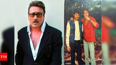 Exclusive! Jackie Shroff on 32 years of 'Ram Lakhan': For me the film is a foundation and a milestone of my career - Times of India