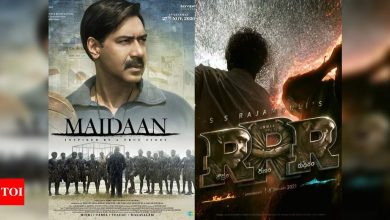 Exclusive! 'Maidaan' Vs 'RRR' War: Can Ajay Devgn get the white flag waved? Industry speaks out - Times of India