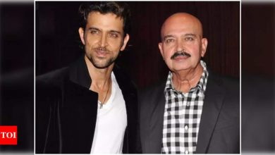 Exclusive! Rakesh Roshan on Hrithik Roshan's birthday: He is still the same hard working boy that he used to be as an assistant - Times of India
