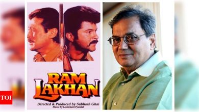 Exclusive! Subhash Ghai on 32 years of 'Ram Lakhan': Jackie Shroff and Anil Kapoor still look like best friends so I am seriously planning a film with them - Times of India