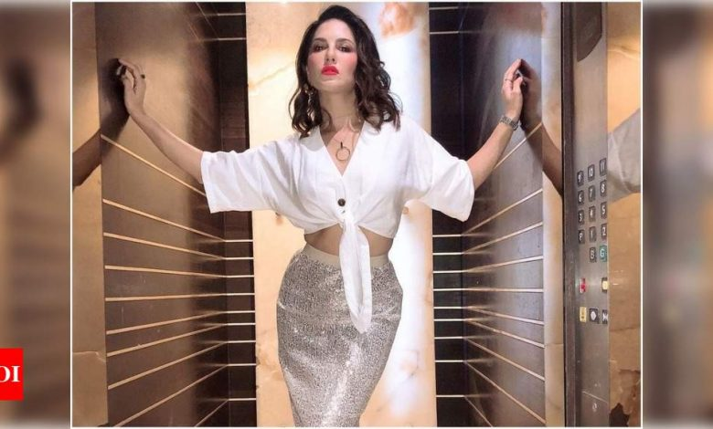 Exclusive: Sunny Leone had severe anxiety when she came back to Mumbai in times of the pandemic! - Times of India