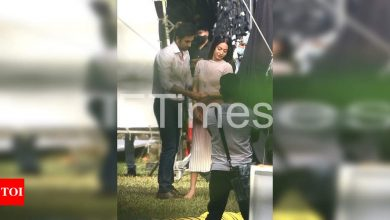 Exclusive photos: Ranbir Kapoor looks dapper in formals as he shoots for a commercial - Times of India