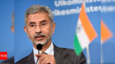 External affairs minister Jaishankar holds telephonic talks with British counterpart | India News - Times of India