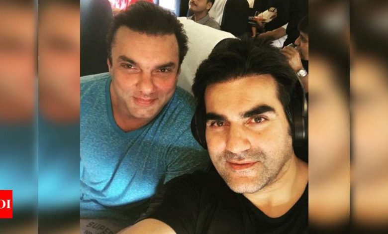 FIR registered against Arbaaz Khan and Sohail Khan for violating COVID-19 protocols - Times of India