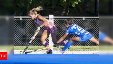 First defeat for Indian women's hockey team on tour of Argentina | Hockey News - Times of India