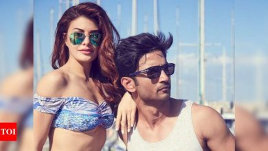 Flashback Friday: When Sushant Singh Rajput helped Jacqueline Fernandez with Hindi - Times of India