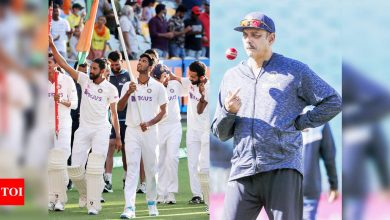 Forget India, the whole world will stand up and salute you: Ravi Shastri in rousing dressing room speech | Cricket News - Times of India