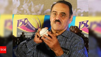 Former Indian spinner BS Chandrasekhar hospitalised in Bengaluru   Cricket News - Times of India
