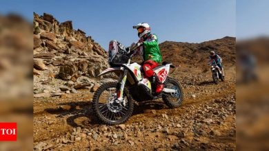 French motorcyclist Pierre Cherpin dies after Dakar Rally fall | Racing News - Times of India