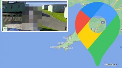 Google Maps Street View: 'Chilling' woman's 'backwards' body alarms in Cornwall