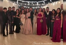 Have you seen Natasha Dalal's pretty pastel lehenga from her sangeet ceremony? - Times of India