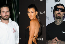 Scott Disick, Kourtney Kardashian, Travis Barker