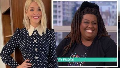 Holly Willoughby sends Alison Hammond gift as she replaces Ruth Langsord and Eamonn Holmes