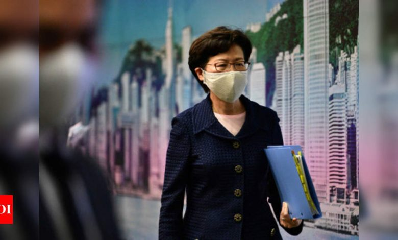 Hong Kong mass arrests chill democracy movement - Times of India