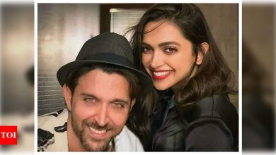 Hrithik Roshan pens a sweet birthday wish for Deepika Padukone: Keep shining and dazzling the world like only you do - Times of India