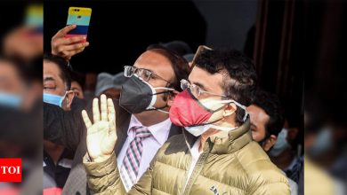 I am absolutely fine, hopefully will be ready to fly soon: Sourav Ganguly | Cricket News - Times of India