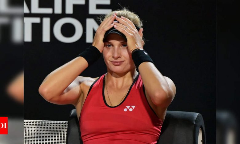 ITF denies Dayana Yastremska's application to lift provisional doping suspension | Tennis News - Times of India