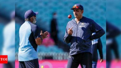 If a bowler concedes a boundary, I know Shastri will shout at me: Bharat Arun | Cricket News - Times of India