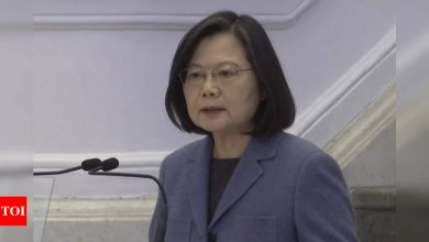 In New Year's speech, Taiwan president again reaches out to China - Times of India