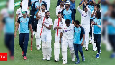 Ind vs Aus test: How an almost third string Indian team beat a full strength Australian team in their own backyard | Cricket News - Times of India